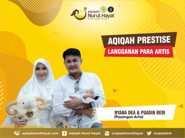 Paket aqiqah bekasi Puadin redi dan Ryana Dea