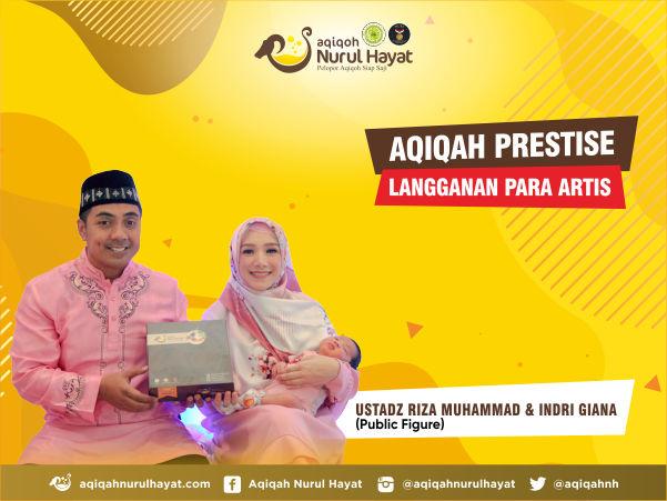 Paket aqiqah bekasi Ustadz riza Muhammad dan indri giana